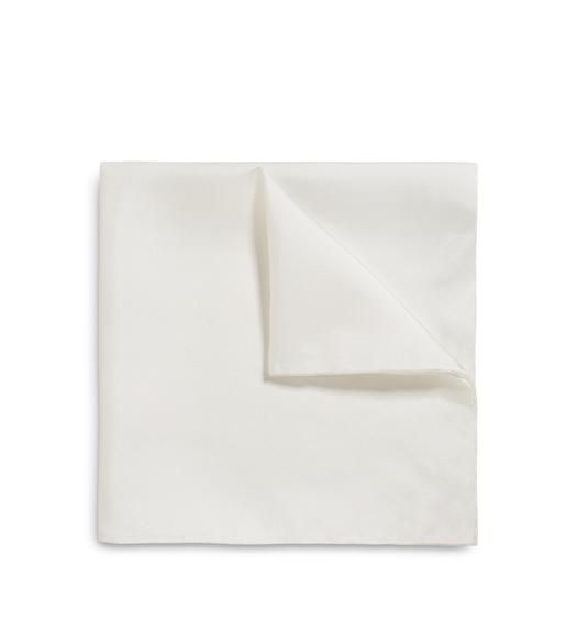 SOLID CLASSIC SILK POCKET SQUARE