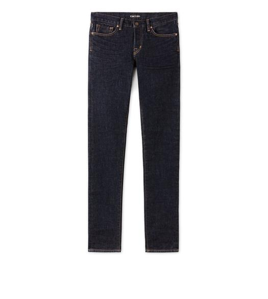 SLIM FIT BLUE JEANS