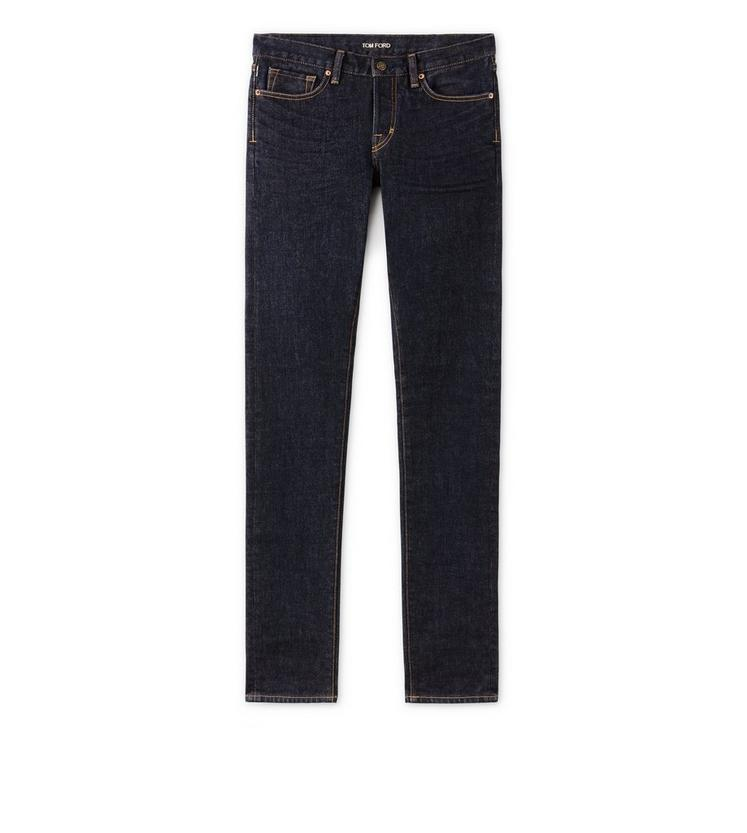 SLIM FIT BLUE JEANS A fullsize