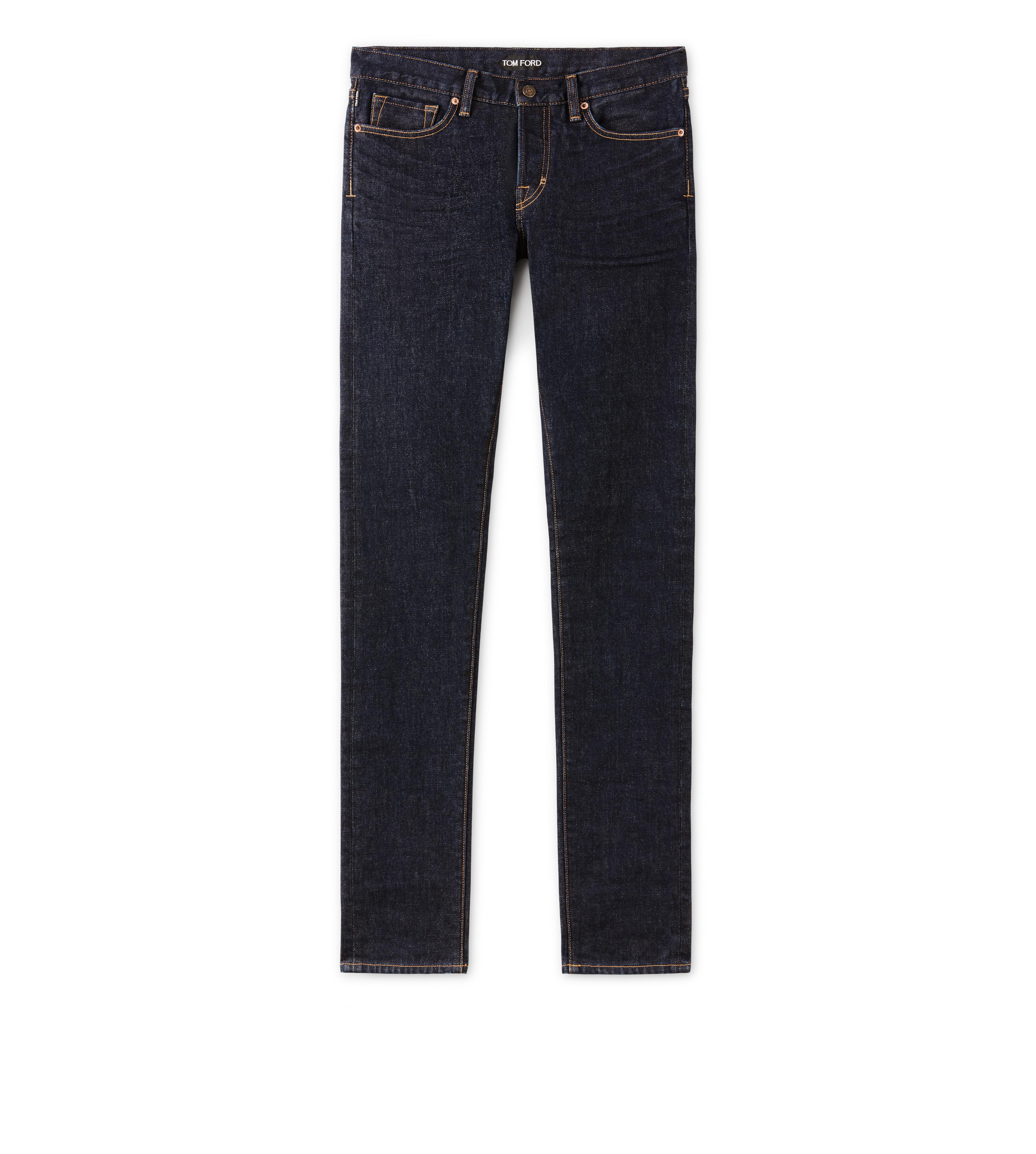 SLIM FIT BLUE JEANS A thumbnail