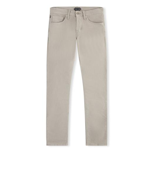 SLIM FIT MOLESKIN JEANS