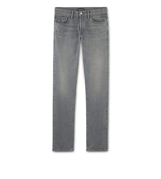 SLIM GREY SELVEDGE JEANS