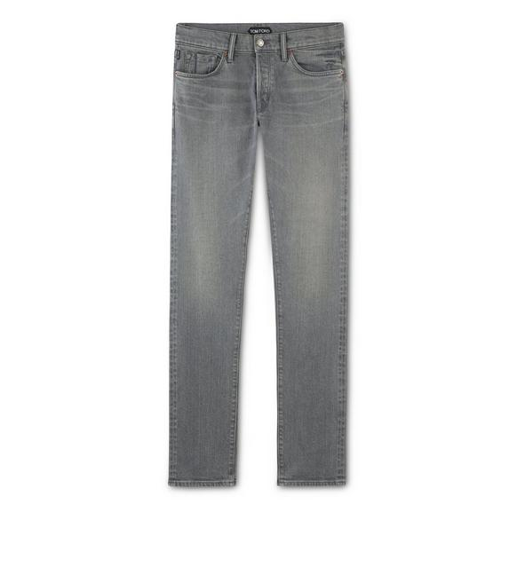 SLIM GREY SELVEDGE JEANS A fullsize