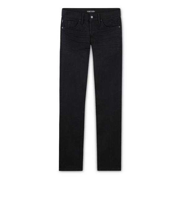 SLIM STRETCH SELVAGE JEANS A fullsize