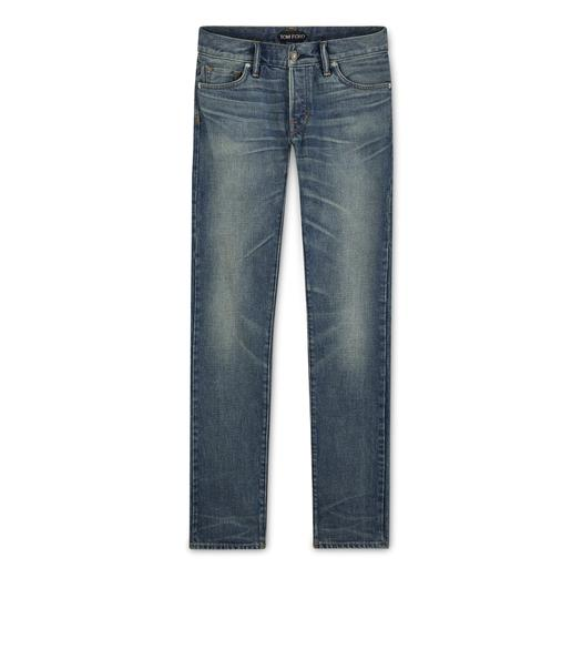 SLIM FIT NON STRETCH JAPANESE SELVEDGE DENIM