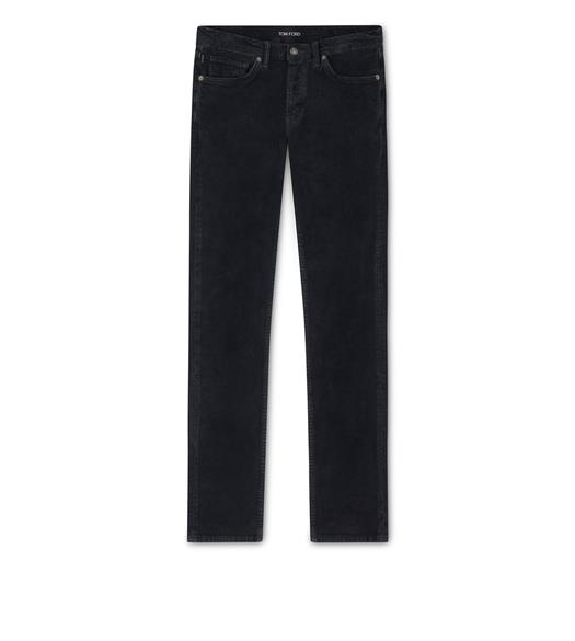SLIM FIT STRETCH WASHED CORDUROY PANT
