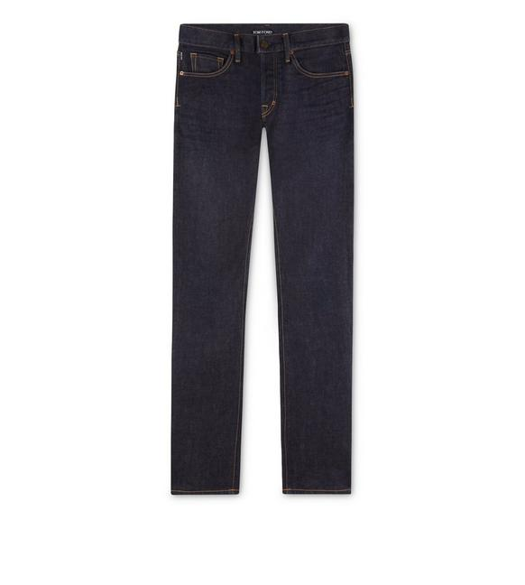 SLIM FIT STRETCH JAPANESE SELVEDGE DENIM A fullsize