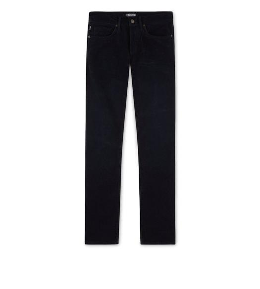 SLIM FIT STRETCH WASHED CORDUROY JEANS