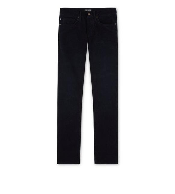 SLIM FIT STRETCH WASHED CORDUROY JEANS A fullsize