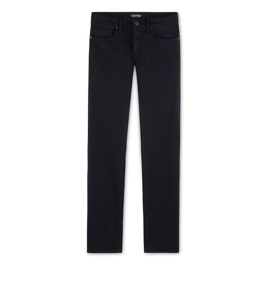 SLIM FIT JAPANESE SATIN JEANS