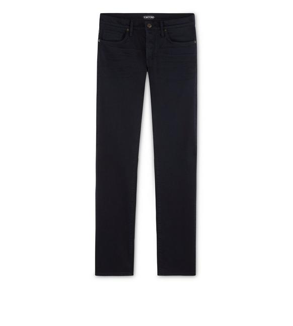 SLIM FIT JAPANESE SATIN JEANS A fullsize