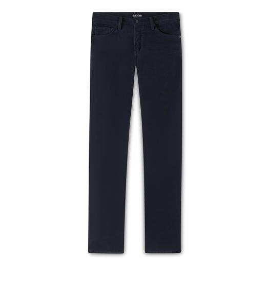 SLIM FIT MOLESKIN STRETCH DENIM
