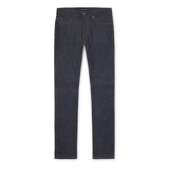 STRAIGHT VINTAGE SELVAGE JEANS A fullsize