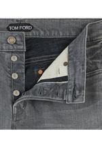 STRAIGHT GREY SELVAGE JEANS E thumbnail