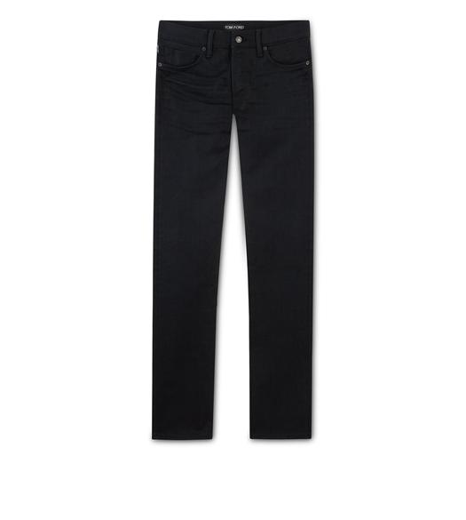STRAIGHT STRETCH SELVAGE JEANS