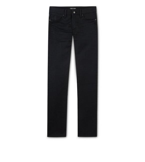 STRAIGHT STRETCH SELVAGE JEANS A fullsize