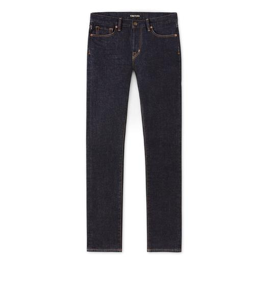 STRAIGHT FIT STRETCH JAPANESE SELVEDGE DENIM