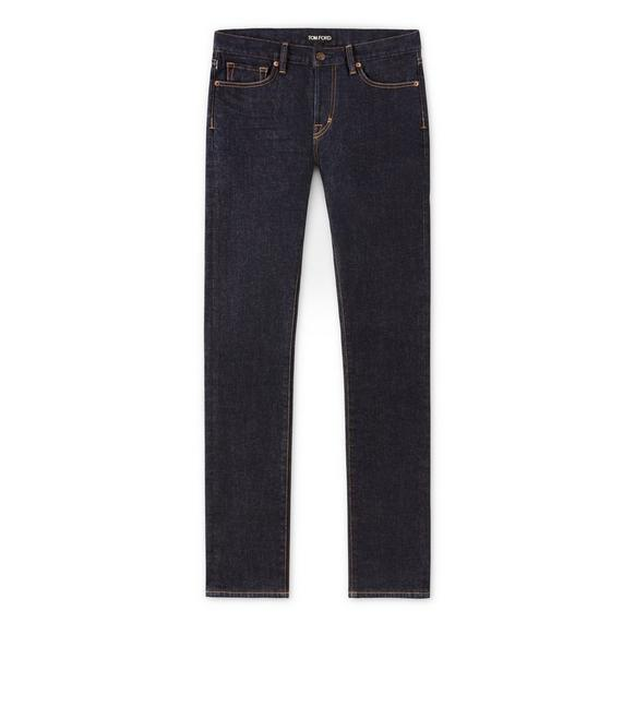 STRAIGHT FIT STRETCH JAPANESE SELVEDGE DENIM A fullsize