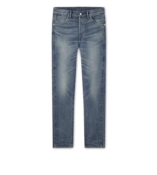 TAPERED JAPANESE SELVEDGE JEANS