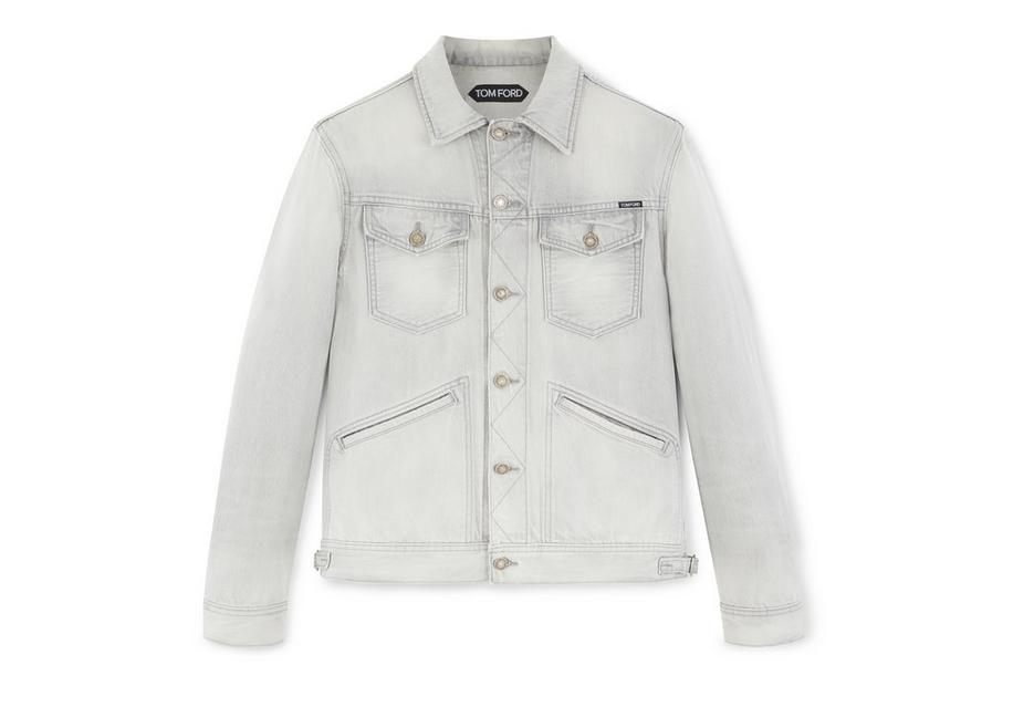 GREY ICON DENIM JACKET A fullsize