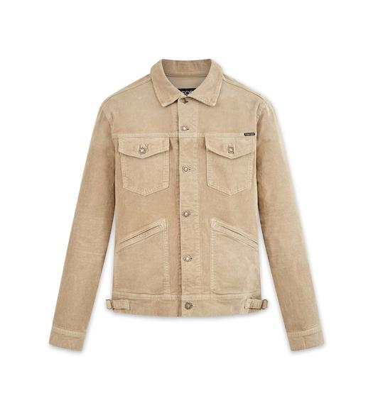 WASHED ICON CORDUROY JACKET