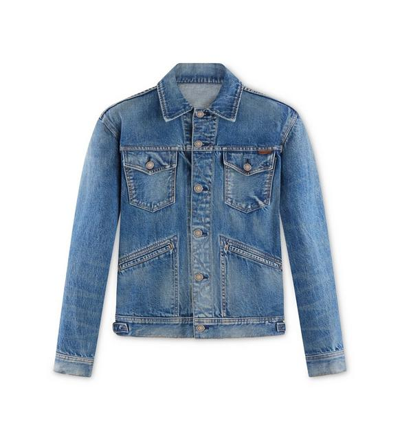 ICON JAPANESE SELVEDGE DENIM JACKET A fullsize