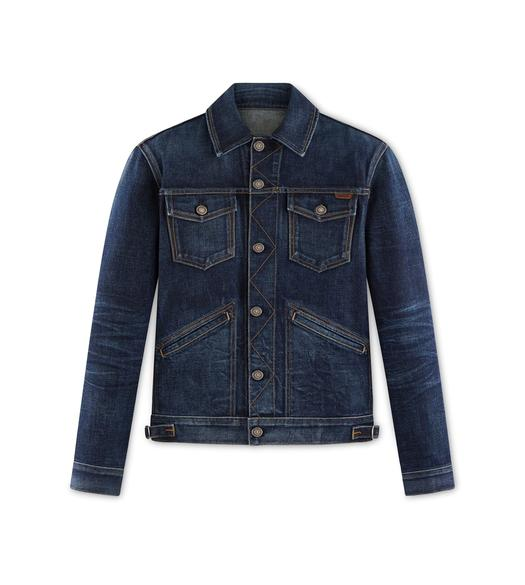 ICON JAPANESE STRETCH SELVEDGE JACKET
