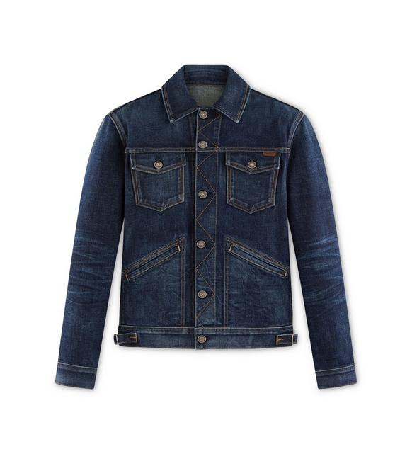 ICON JAPANESE STRETCH SELVEDGE JACKET A fullsize