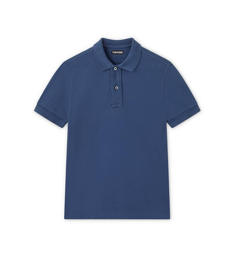 TENNIS PIQUET SHORT-SLEEVED POLO SHIRT A fullsize