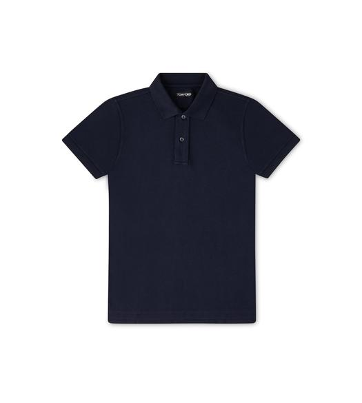 TENNIS PIQUET GARMENT DYED POLO