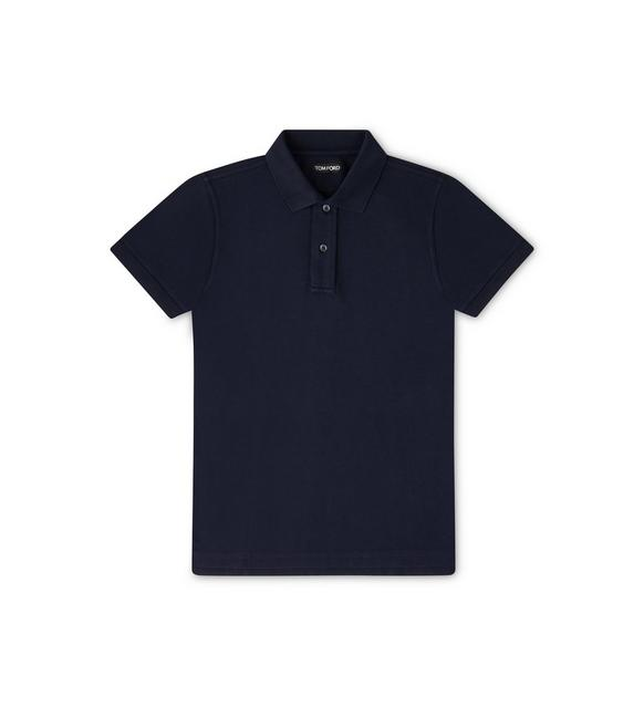 TENNIS PIQUET GARMENT DYED POLO A fullsize