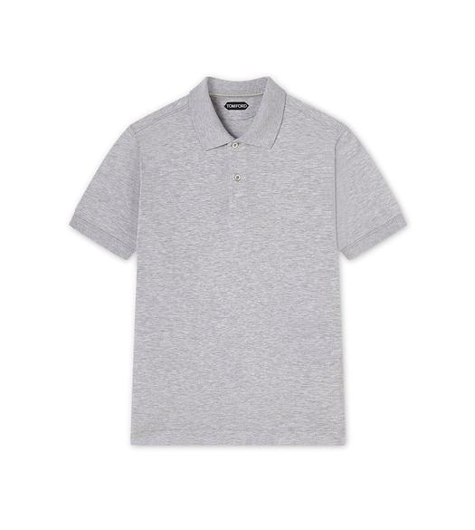 LIGHT PIQUET SHORT-SLEEVED POLO SHIRT