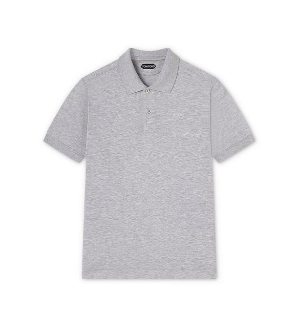 LIGHT PIQUET SHORT-SLEEVED POLO SHIRT A fullsize