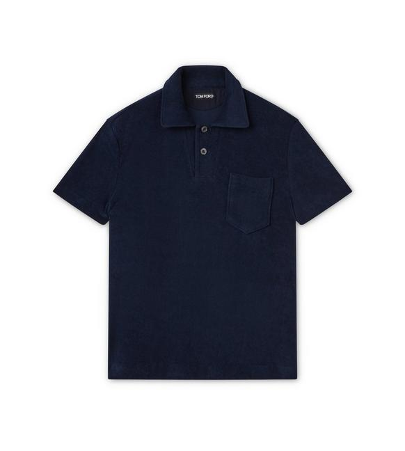 CLASSIC TOWELLING SHORT SLEEVED POLO SHIRT A fullsize