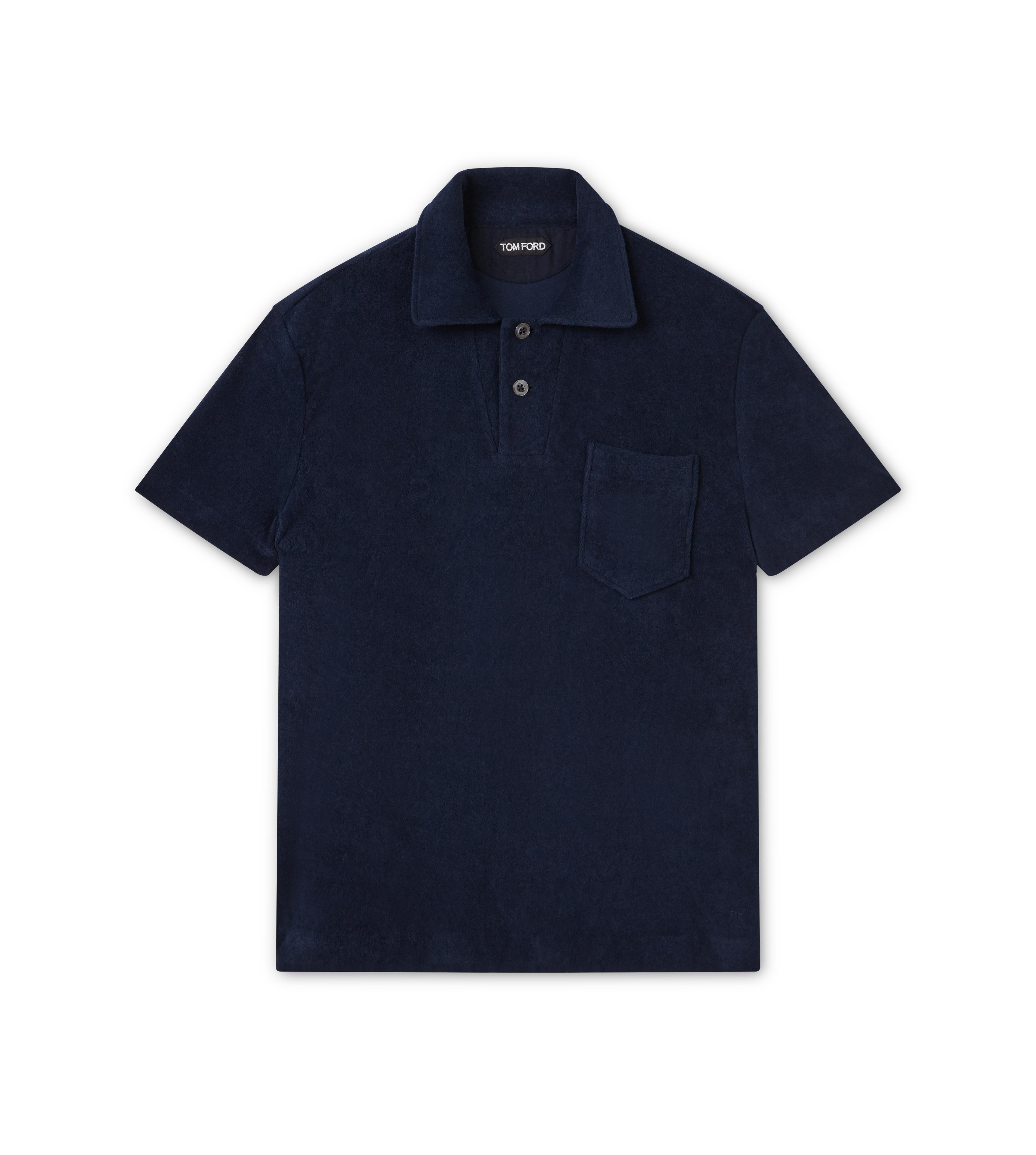CLASSIC TOWELLING SHORT SLEEVED POLO SHIRT A thumbnail