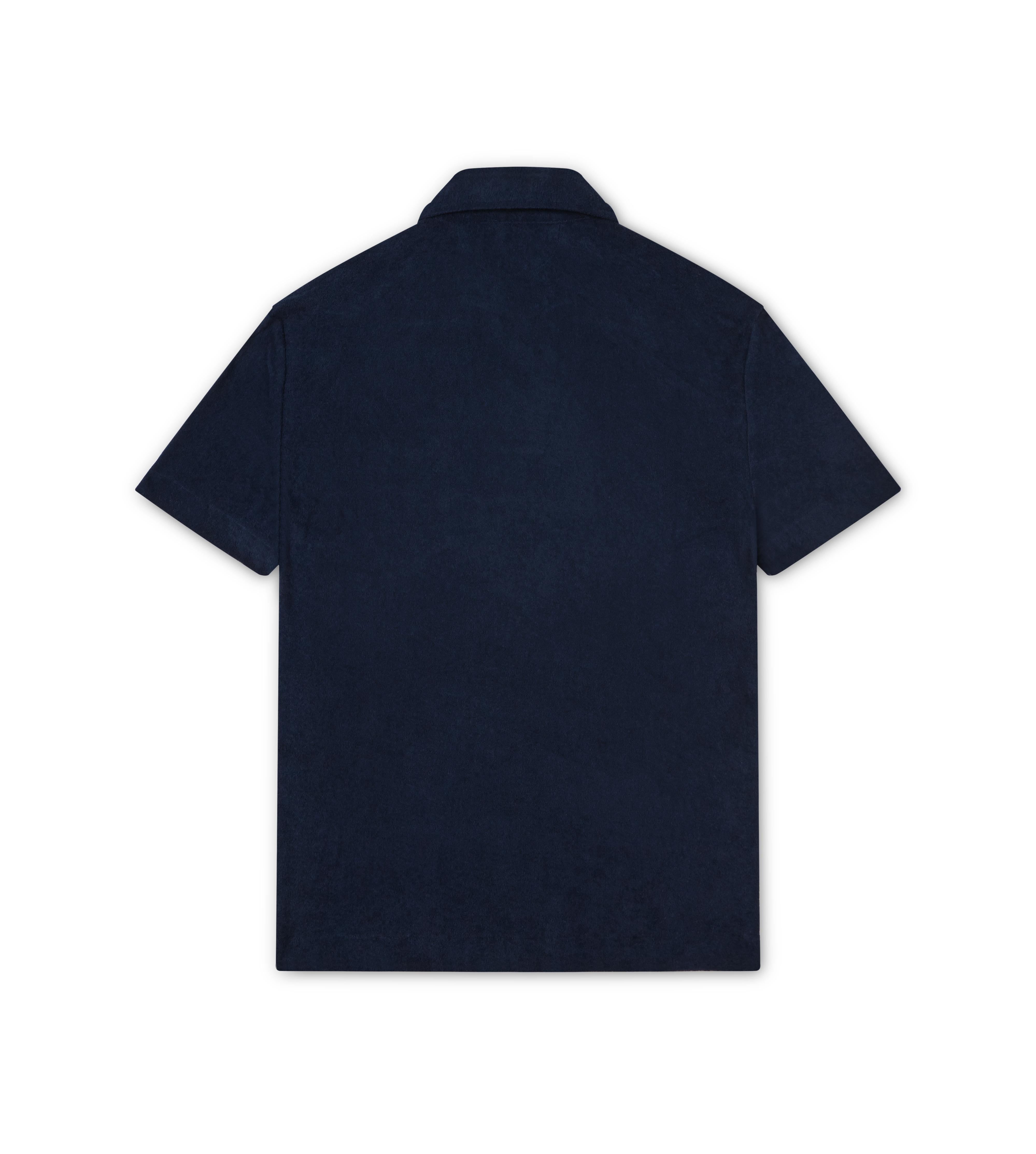 CLASSIC TOWELLING SHORT SLEEVED POLO SHIRT B thumbnail