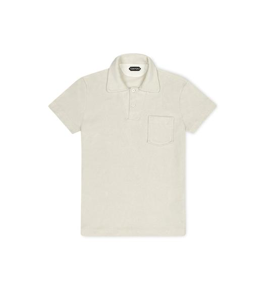 COTTON TOWELING POLO