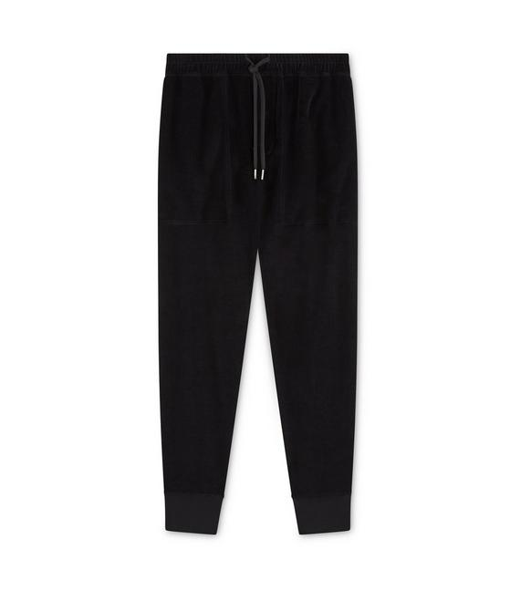 VELOUR SWEATPANTS A fullsize