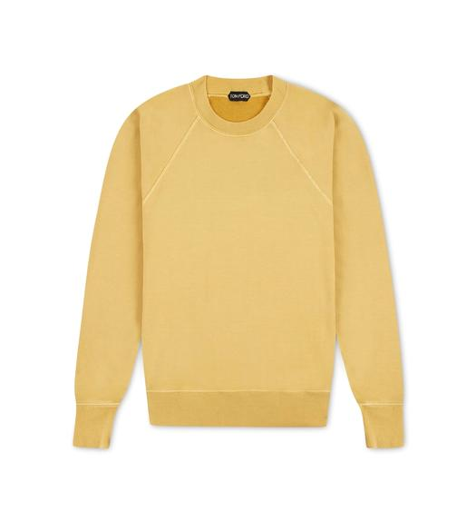GARMENT DYED SWEATSHIRT