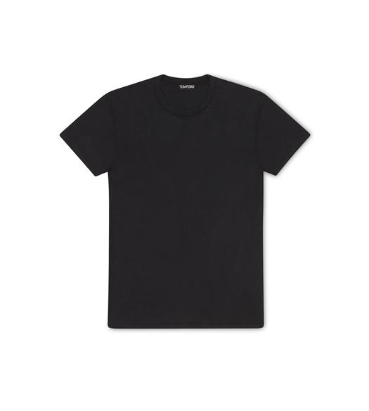 VISCOSE COTTON JERSEY T-SHIRT