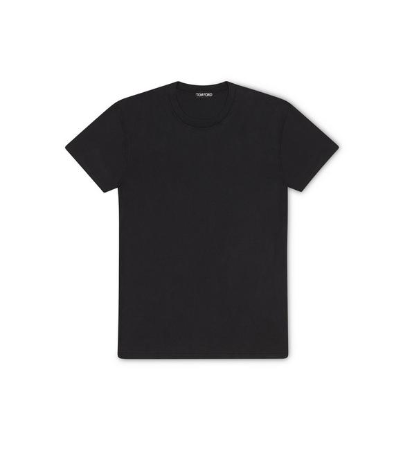 VISCOSE COTTON JERSEY T-SHIRT A fullsize