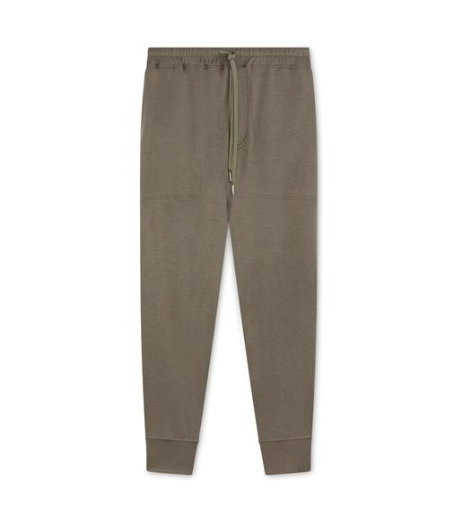 INTERLOCK CASHMERE SWEATPANTS