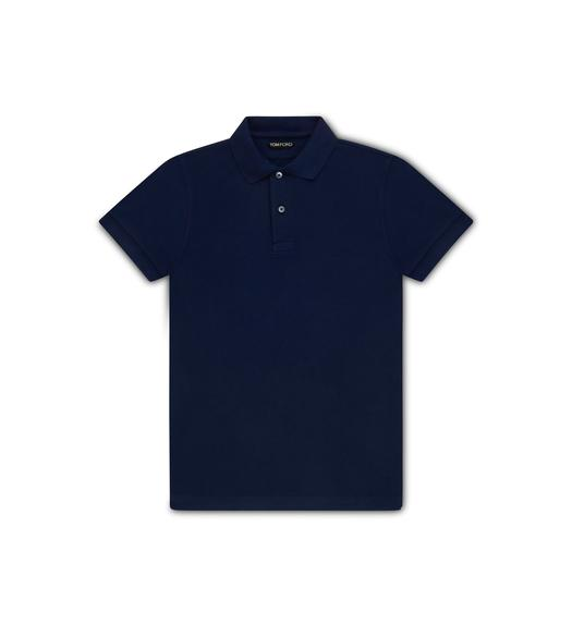COTTON TENNIS PIQUET POLO