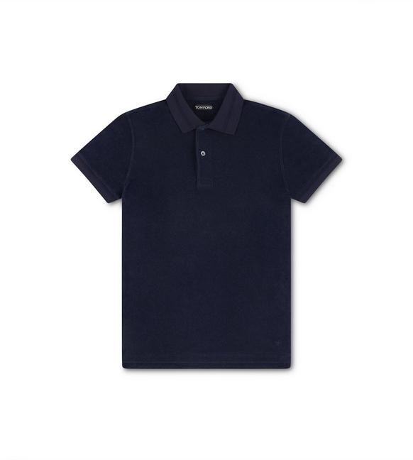 COTTON TOWELING POLO A fullsize