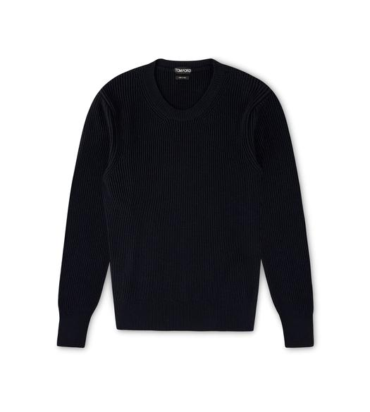 FISHERMAN RIB CREWNECK