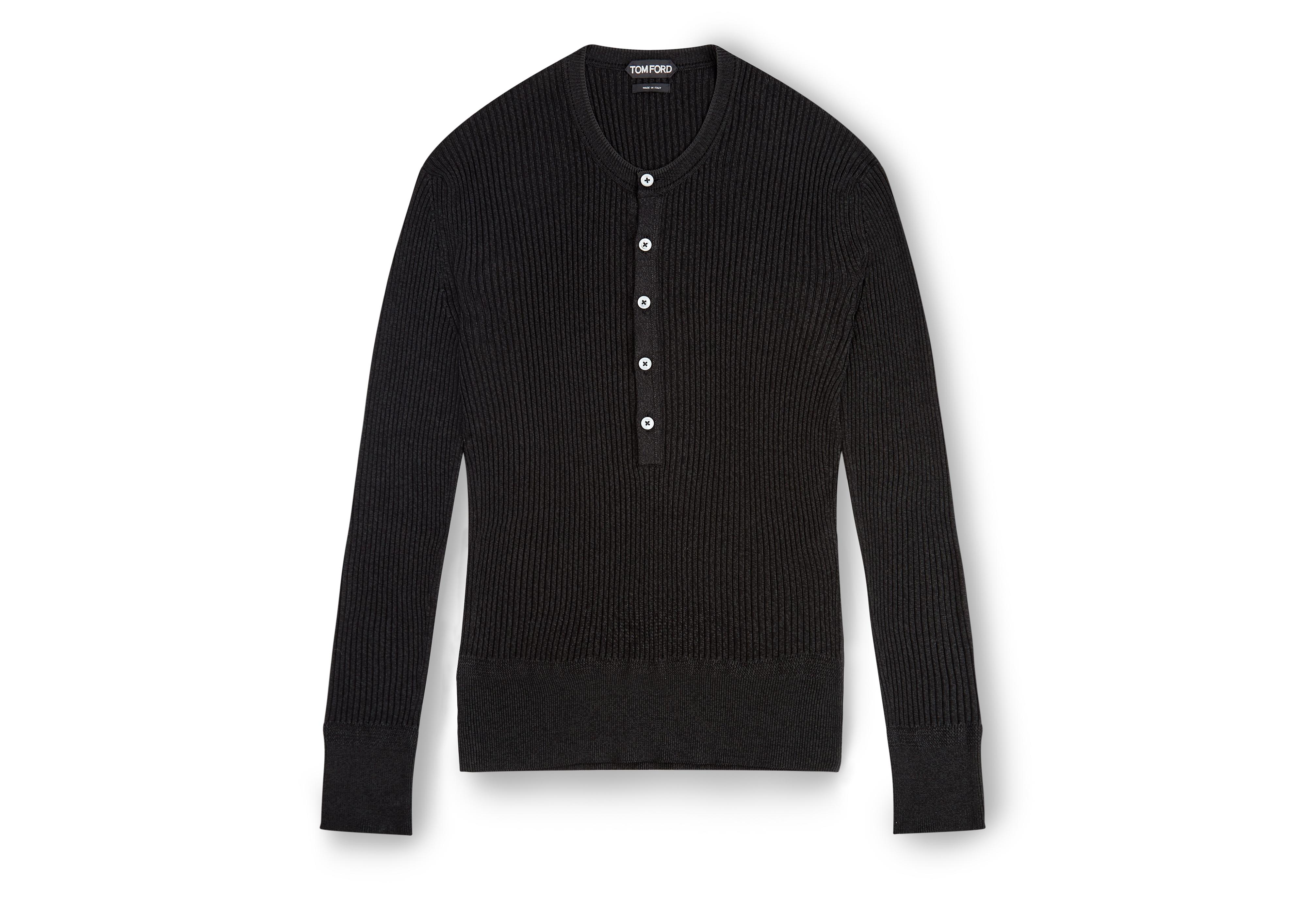 MOULINE RIBBED HENLEY A thumbnail