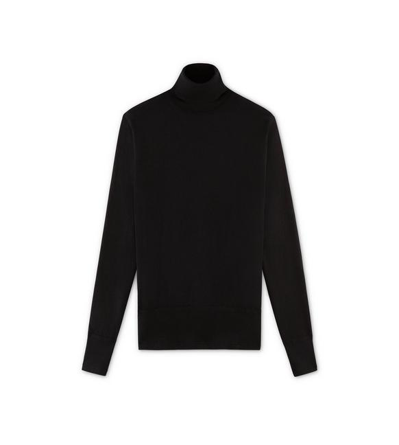 SUPERFINE CASHMERE TURTLENECK A fullsize