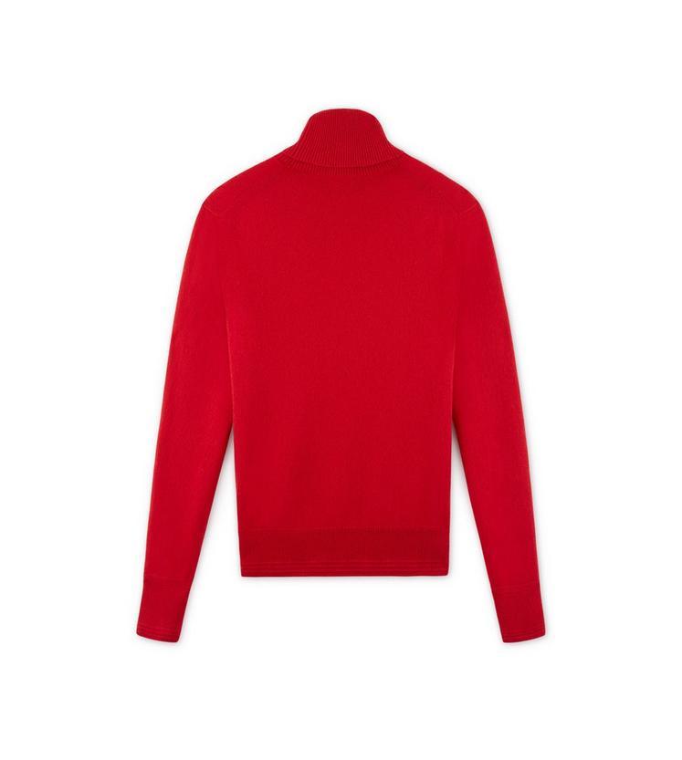 CLASSIC CASHMERE RED TURTLENECK B fullsize
