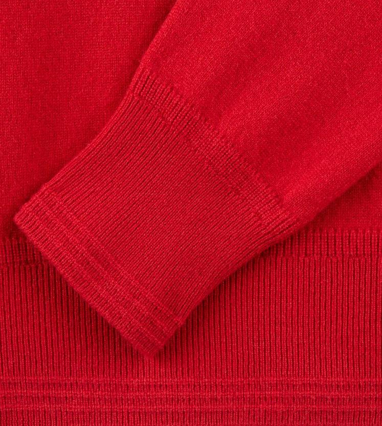 CLASSIC CASHMERE RED TURTLENECK C fullsize