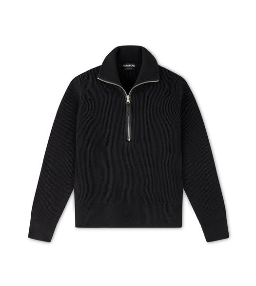 FISHERMAN RIB HALF ZIP